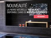 Nouveauté Kei-Stone Black Ardoise naturelle noire