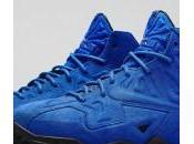 Nike LeBron Blue Suede