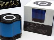 Offre privilège -33% l'enceinte nomade Bluetooth BluBeats Gravity