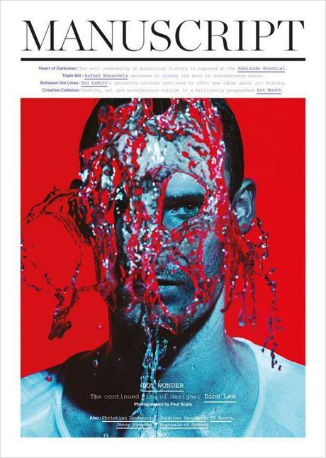 Dion Lee by Paul Scala for Manuscript Magazine April 2014