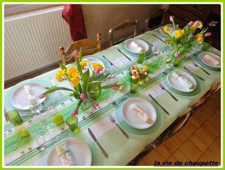 table printanière tulipes-15
