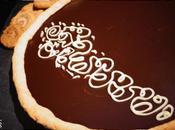 Tarte chocolat truffé