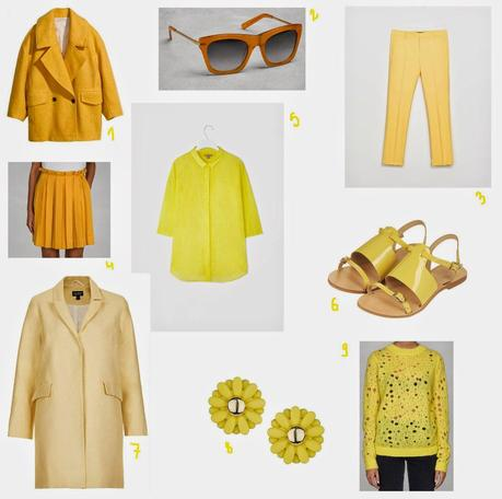 SHOPPING LIST: JAUNE