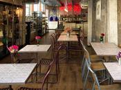 Café brocante Londres