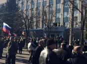 UKRAINE. Kharkov: film pire dimanche usurpateurs Kiev pro-Otan