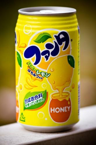 Fanta Honey - Lemon