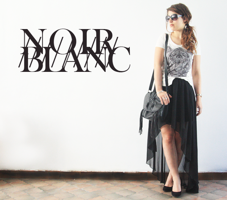 Wear  it like me #7 : Noir / blanc