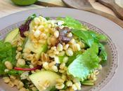 Salade Fourme d'Ambert pomme Granny Smith
