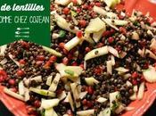 Salade lentilles comme chez Cojean