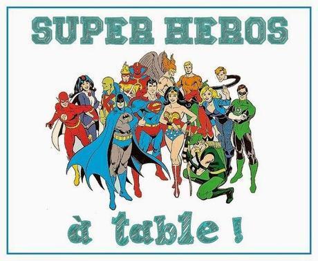 Super héros et héroïnes, à table avec Charlie Jasmin !