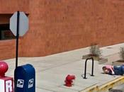Google Street View vie, vraie