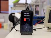 Recharger batterie smartphone secondes