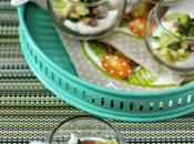 Verrines Boursin cuisine®, courgettes jambon