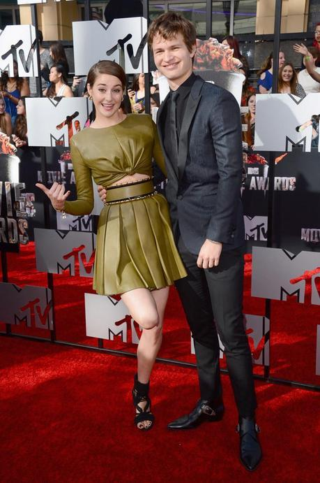 Divergents Shailene Woodley and Ansel Elgort [News] MTV Movie Awards 2014 : le palmarès complet !