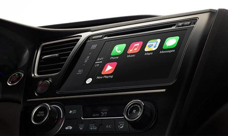 Un autoradio Alpine compatible avec le système CarPlay d'Apple