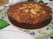 Gâteau pommes romarin