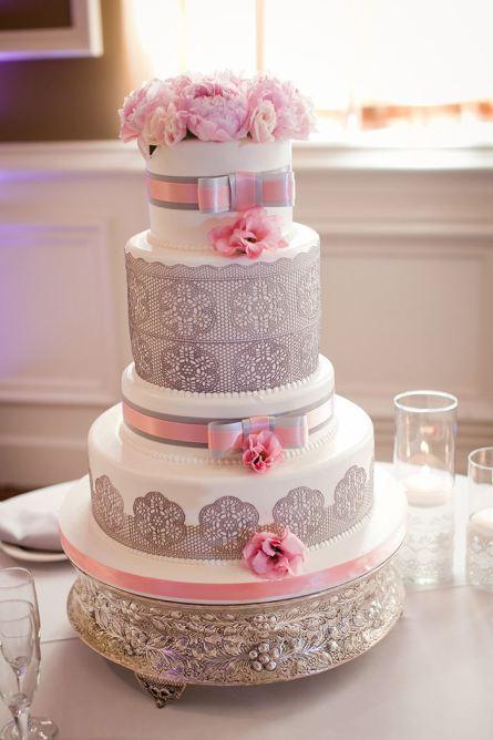 Célèbre Conseil pour un mariage rose poudré et gris - Paperblog NP49