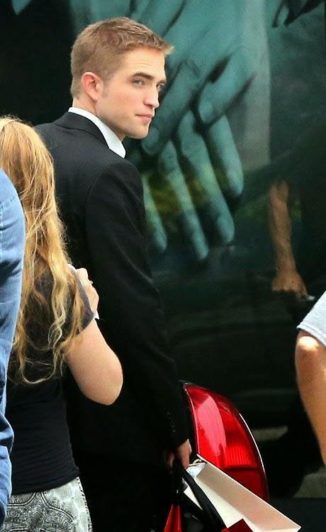 Toujours plus de Robert Pattinson dans