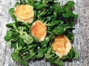 Salade gourmande Babybel pané