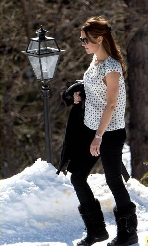 Look casual de Kate Middleton enceinte
