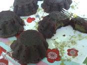 Mi-cuit chocolat~coeur matcha