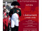 Fontainebleau Bicentenaire Adieux Napoléon ,Samedi dimanche avril 2014