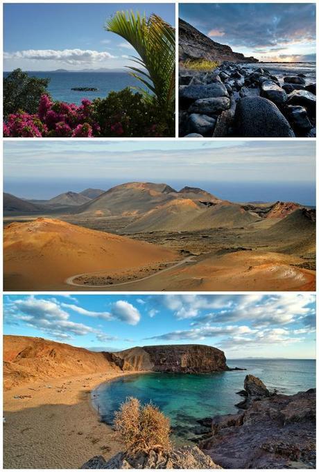 Les plus belles îles d'Europe lanzarote