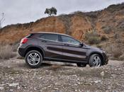 Mercedes Classe GLA, luxe route
