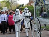 enterrement Star Wars pour petit garçon