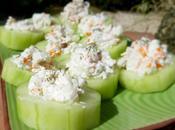 Bouchées fraicheur concombre...