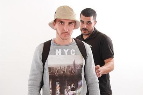 Kzano et son complice Youssef K-Tama (photo D.R.)
