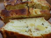 Cake moelleux pommes romarin