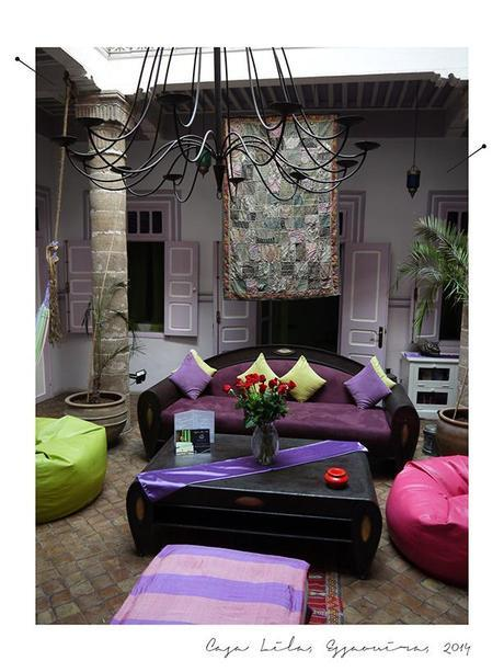casa lila Maroc, pays de couleurs, de parfums et de sourires part 4