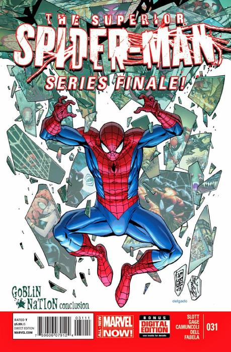 SUPERIOR SPIDER-MAN #31 : LA REVIEW (ATTENTION SPOILER)