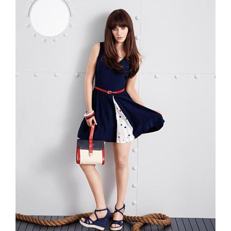 Zooey Deschanel (New Girl) et sa collection pour Tommy Hilfiger
