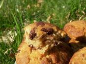 Gros cookies moelleux deux chocolats