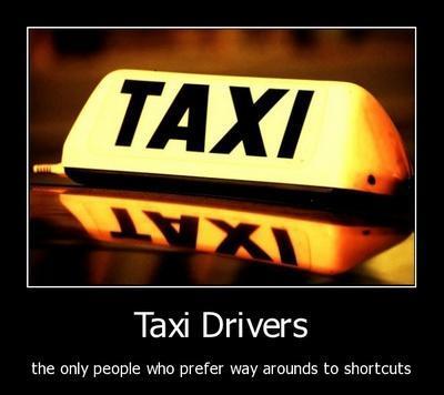 Taxis démotivants