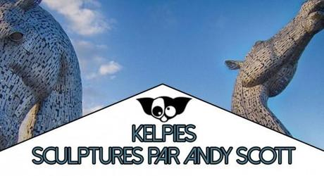 Les « Kelpies » : Monumentales sculptures par Andy Scott