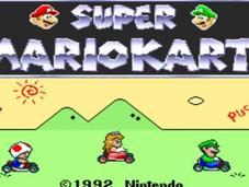 Super Mario Kart entretien avec champion monde