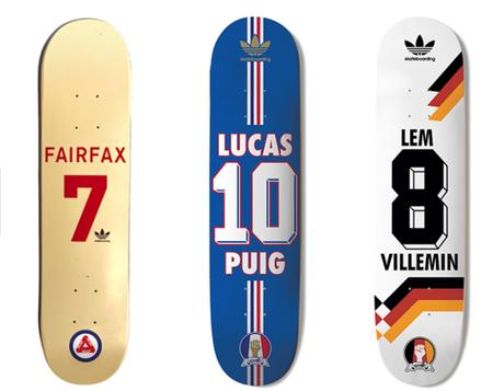 Skate Copa Deck: soyez prêts à skater pour la Coupe du Monde