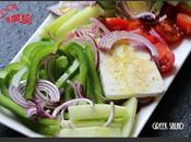 Greek salade tsatsiki