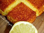 Gateau citronné polenta