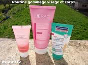 Routine gommage visage corps