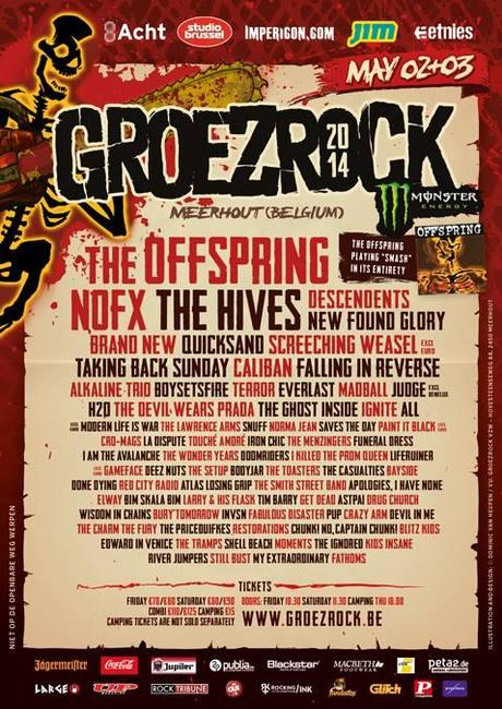 Preview : Groezrock 2014