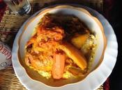 Couscous poulet legumes couscous marocain