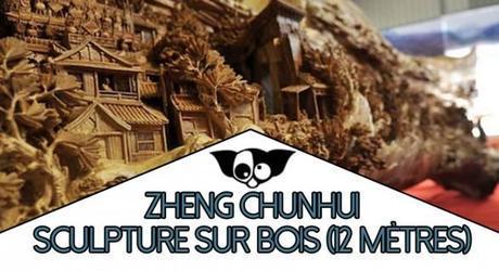 Zheng Chunhui : La plus longue sculpture sur bois du monde