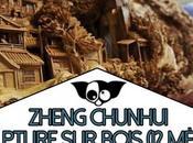 Zheng Chunhui plus longue sculpture bois monde