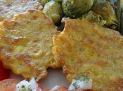 Beignets maïs poulet poêlée légumes