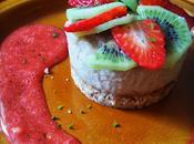 Cheesecake citron vert sans Lactose