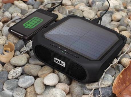 Rugged Rukus, l'enceinte Bluetooth étanche fonctionnant à l'énergie solaire